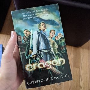 Eragon by Christopher Paolini Paperback
